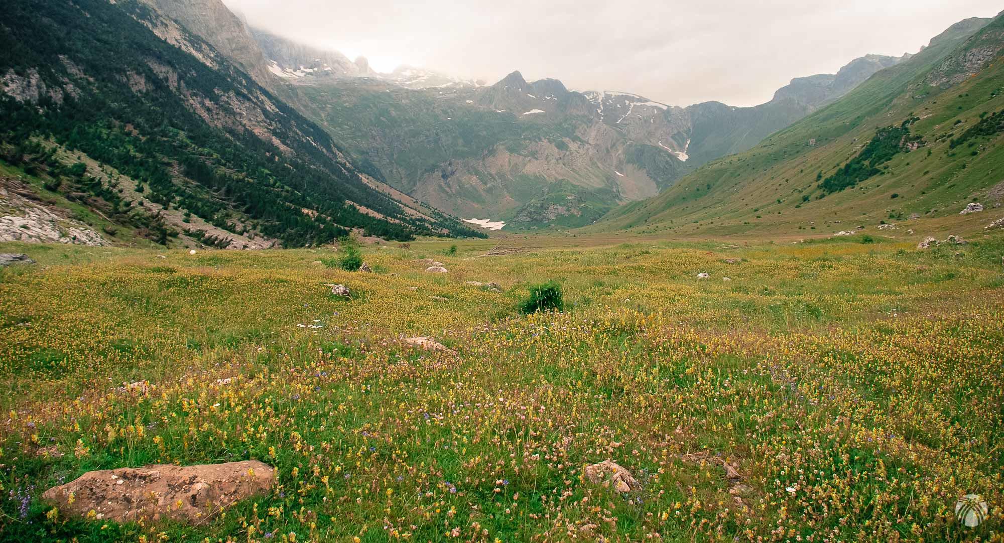 Valle de Otal. Valle glaciar