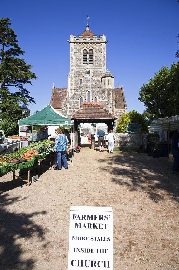 1. Visit a Farmer's Market