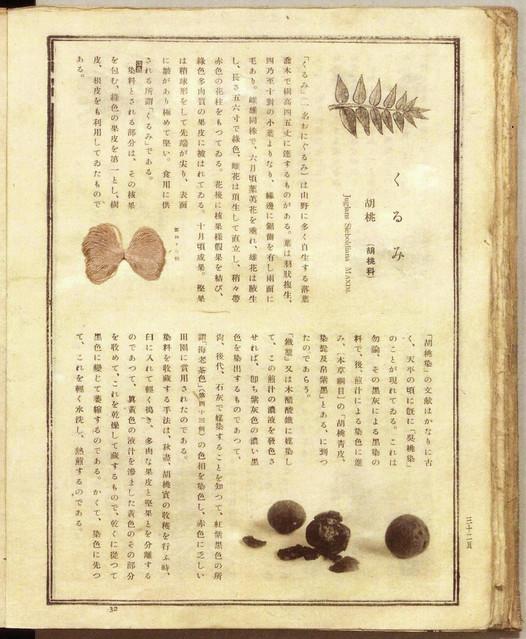 山崎斌「日本固有草木染色譜」(1933) p32