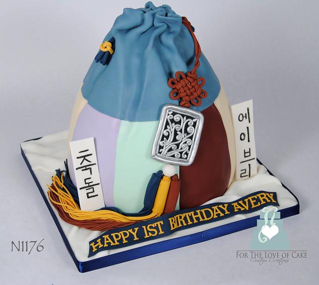 N1176-korean-lucky-bag-cake-toronto-oakville