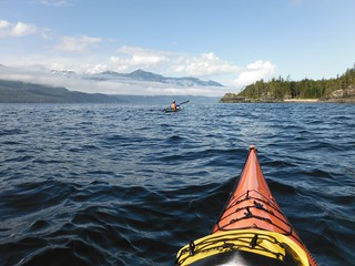 Paddling on Johnstone Strait | by charleschandler