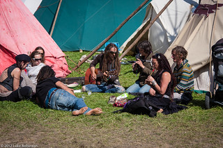 Making Music in the Tipi Field | by Luke Robinson