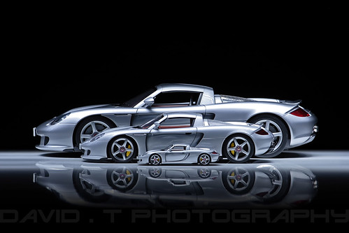 Porsche Carrera GT - Tamiya 1/12 / AUTOart 1/18 / AUTOart 1/43 | by David.T Photography
