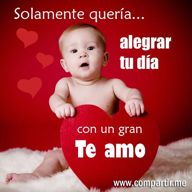 Frases De Amor Imagen De Amor Con Frase Bonita Para Alegr