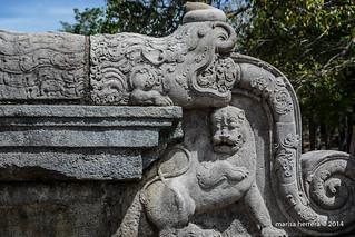 Sri Lanka. Polonnaruwa. Vatadage.