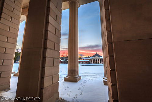 winter sunset snow ny newyork wideangle upstate saratogasprings uwa hallofsprings saratogaspastatepark canonef1635mmf28liiusm canoneos6d samanthadecker