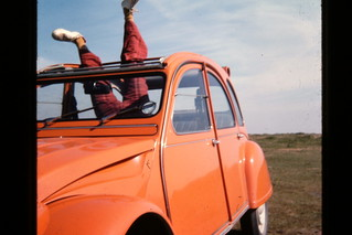 My 1975 Citroen 2CV 6. A very silly picture!   by andreboeni