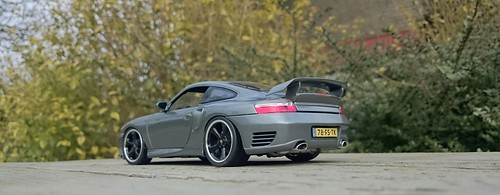 Porsche 996 GT2 Seal Grey (2) | by www.MODELCARWORKSHOP.nl