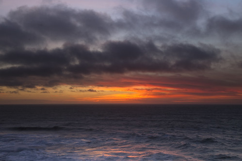 sunset oregon bay coast events landmarks places pacificocean depoe 20150214056