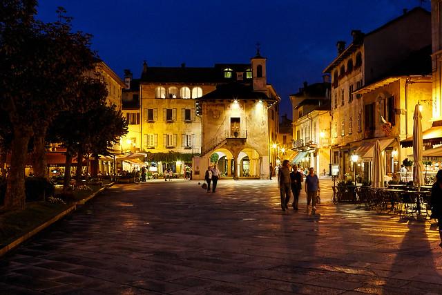 Abend in Orta San Giulio