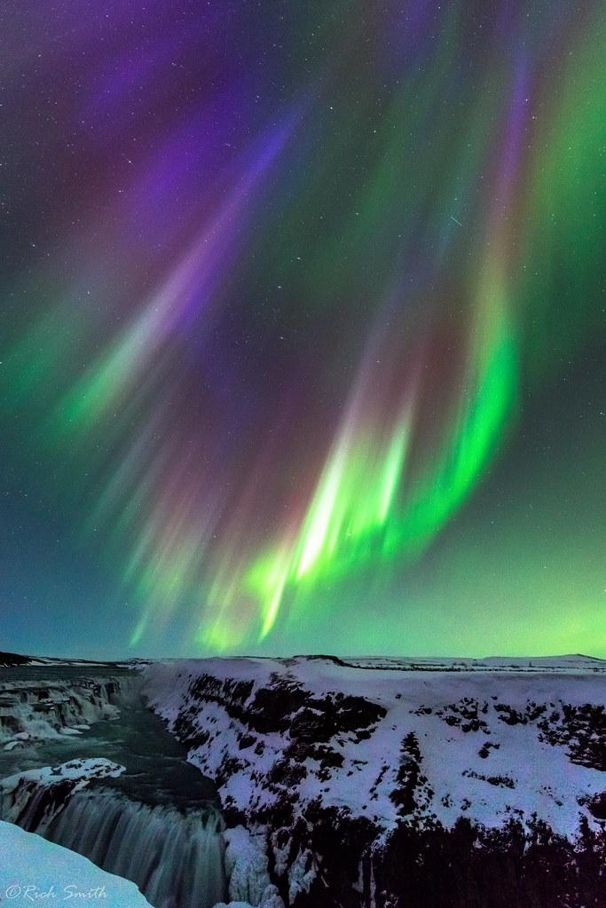 Gullfoss Aurora