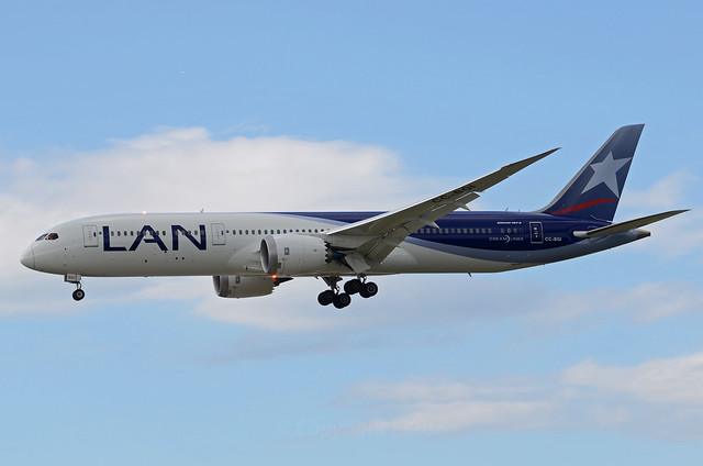 LAN Airlines Boeing 787-9 Dreamliner CC-BGI