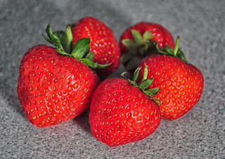 After A Afternoon Of Tennis It Has To Be Strawberries | by Martin Pettitt