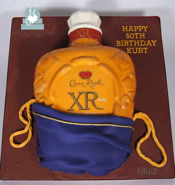 N1162-crown-royal-bottle-cake-toronto-oakville