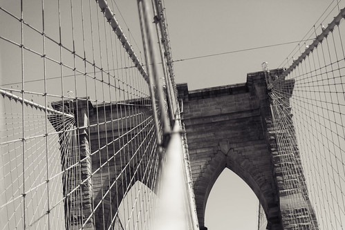 Go home, Brooklyn Bridge, you're drunk | by Julien Lagarde