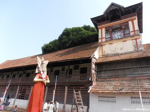 Pandavas: Painkuni Festival. Padmanabhaswamy Temple