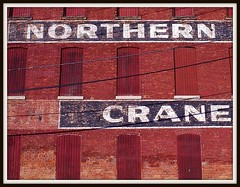 Sign: Northern Engineering Works Building (NORTHERN CRANE), Color Version--Detroit MI