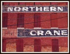 Sign: Northern Engineering Works Building (NORTHERN CRANE), Color Version--Detroit MI
