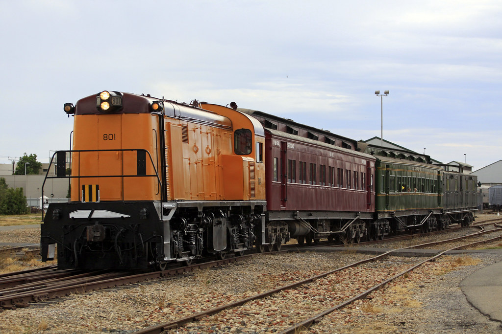 801 Re-Launch by Tom Marschall