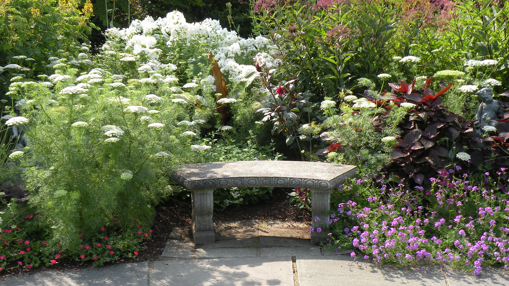 Phenomenal Tower Hill Botanic Garden Secret Garden Bench Located In Andrewgaddart Wooden Chair Designs For Living Room Andrewgaddartcom
