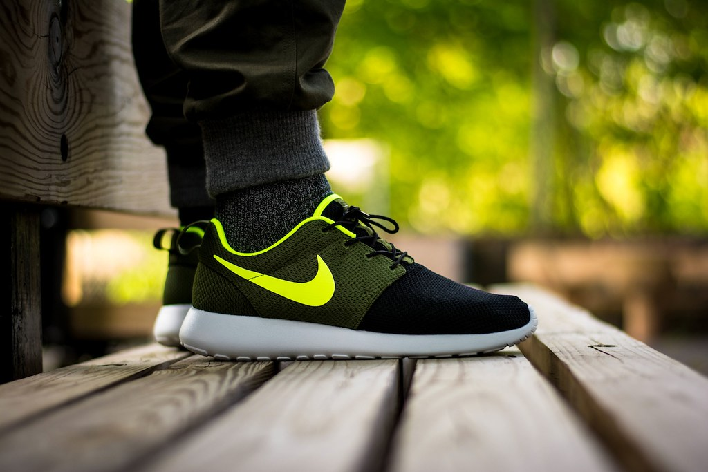 "reputable site 67527 26a5c ... Nike Roshe Run iD ""Urban Volt""   by Vagrant Sneaker"