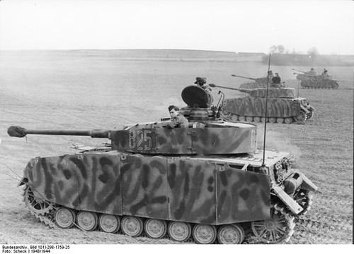 Tyske Panzer IV