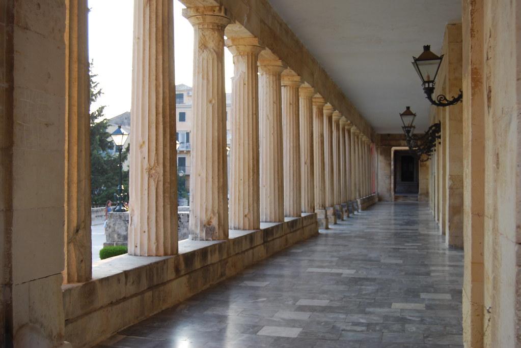 Palace of St. Michael & St. George - Corfu