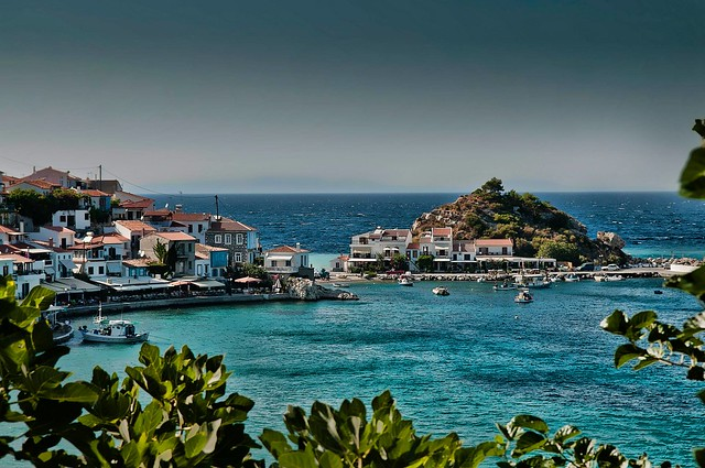Samos Town and Villages on Samos Island