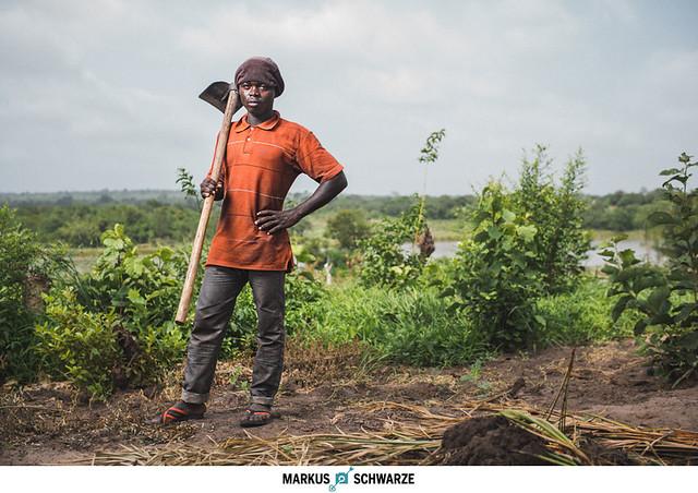 Farmer in Utete/Tanzania