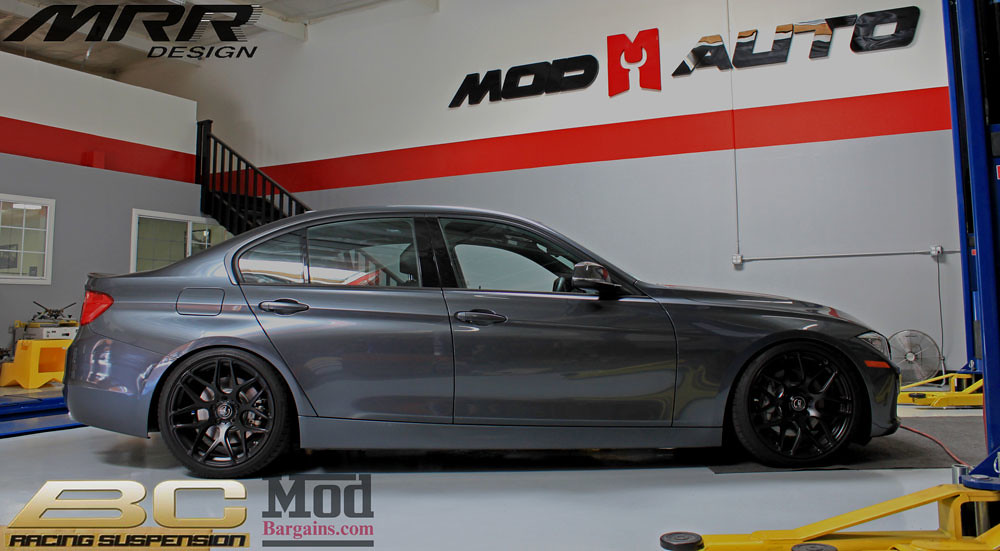 Bmw F30 335i On Bc Coilovers Br Series With Mrr Gf9 Matt Flickr