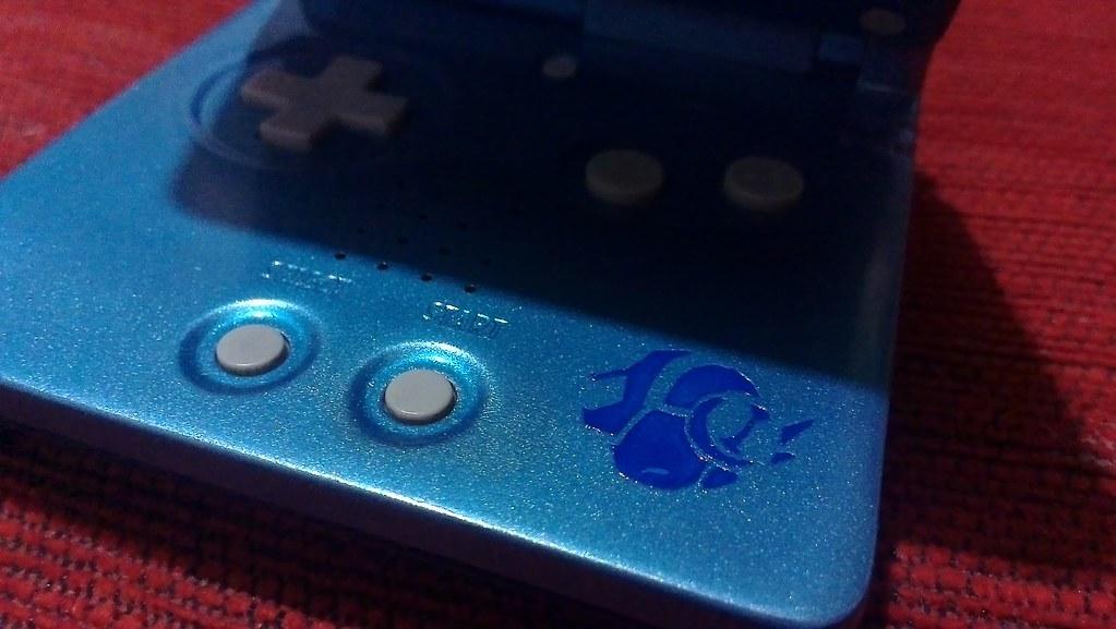 Gameboy Advance SP custom v Megaman Battle Network | Flickr