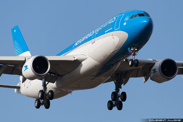 Aerolineas Argentinas Airbus A330-202 cn 1605 F-WWKQ // LV-FVH