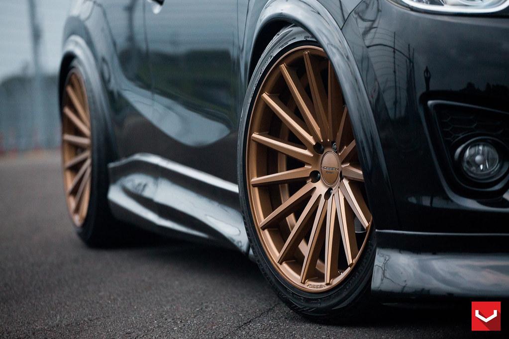 Mazda Cx5 20 Vossen Vfs2 Wheels Vossen Wheels 2014