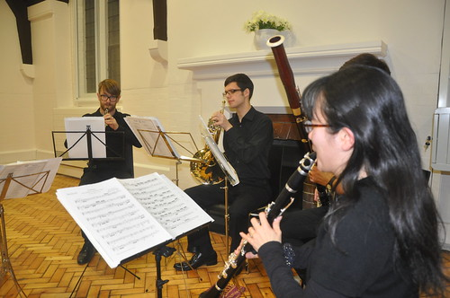 Musicians playing at the opening of the new parish centre of St James the Less, Pimlico | by The National Churches Trust