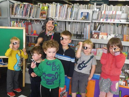 Spreydon Pirate Storytime