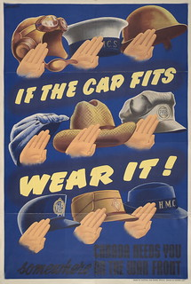 If the cap fits, wear it! | by Toronto Public Library Special Collections
