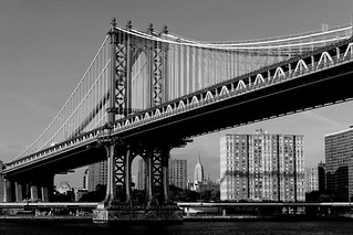 Manhattan Bridge & Empire State Building | by Shot Yield Photography