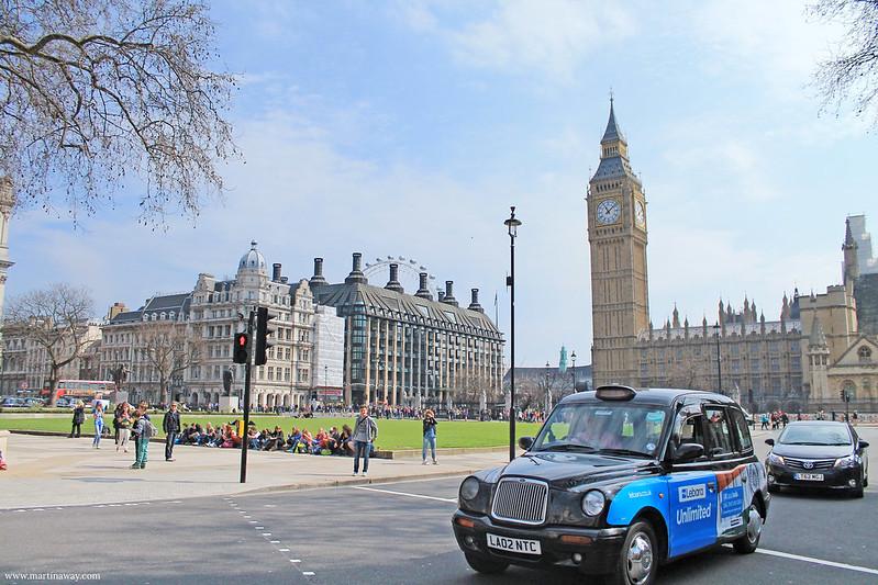 Parliament Square.