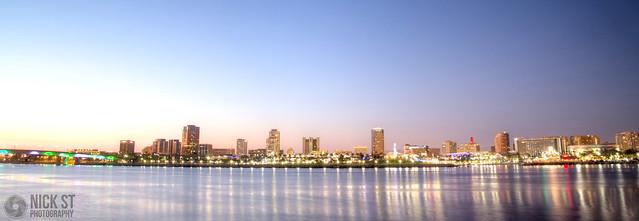 Long Beach Reflected