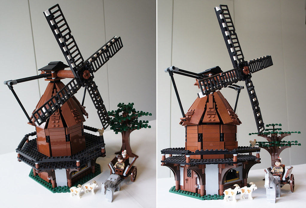 LEGO medieval windmill MOC | Phil Crowfield | Flickr