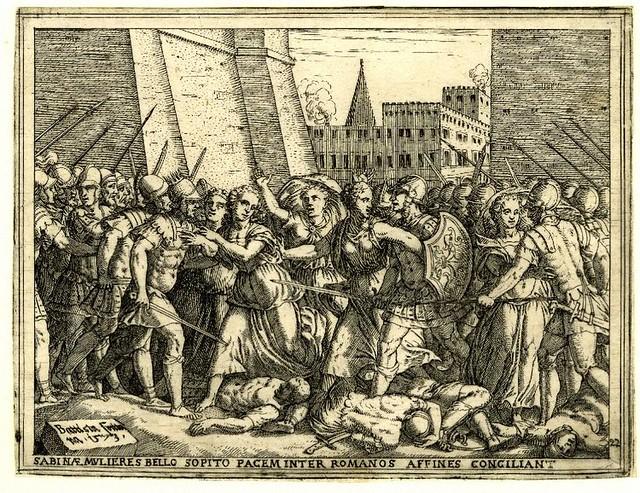 +1574 Las sabinas se interponen entre romanos y sabinos