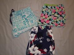 Aeropostale Lot Of 3 Pairs Of Super Cute Shorts Size L and XL & Hawaiian Shorts