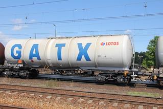 GATX / LOTOS Zans tanker , Nowa Wieś Wielka train station 22.07.2013 | by szogun000