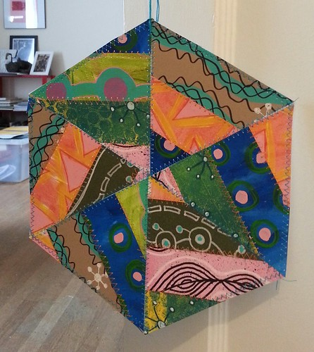Paper fabric window thingy