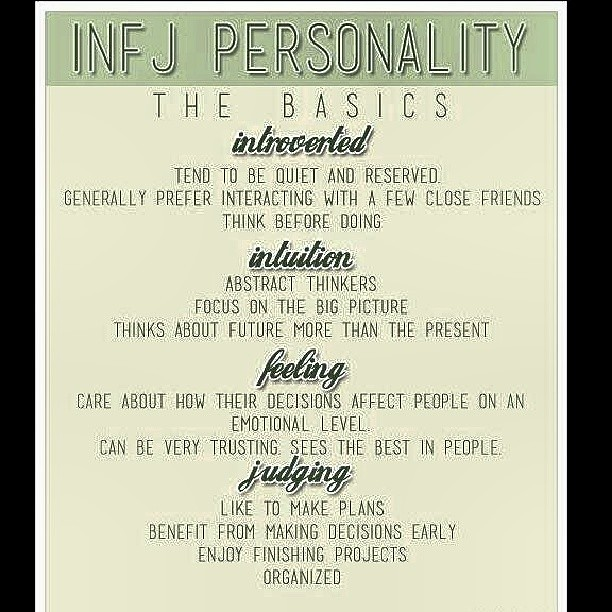 MBTI Personality INFJ, 'The Protectors'  If you or someone… | Flickr