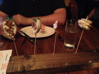 Dim Sum on a Stick at Haute Dish | by katbaro