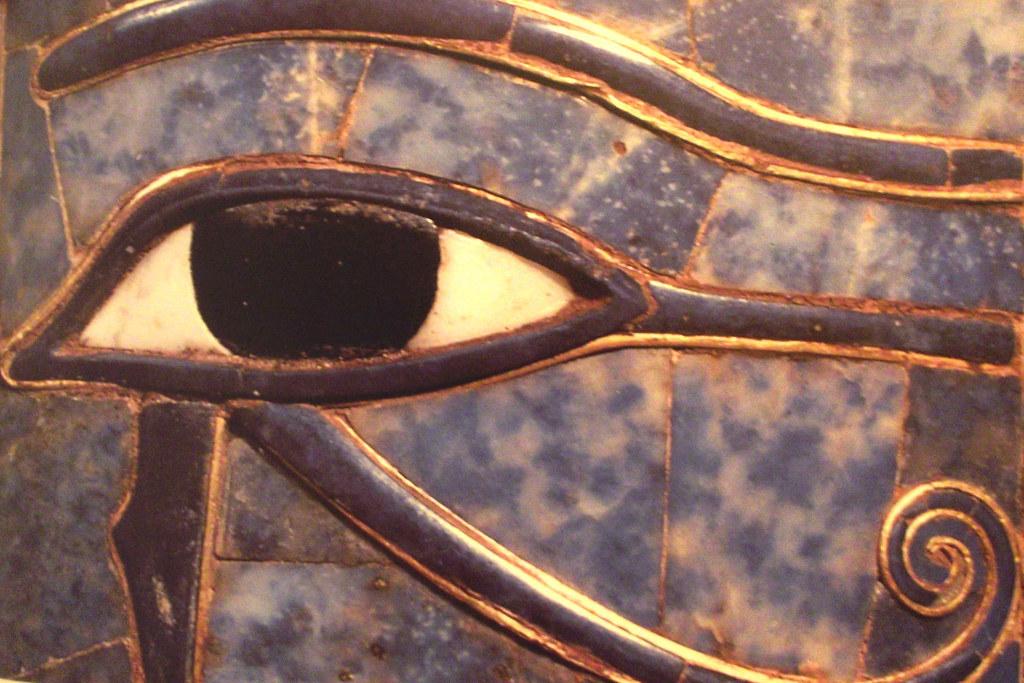 The Eye of Horus - Wadjet or Ujat   The Eye of Horus was bel