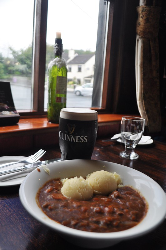 Travel to Ireland: Wild Wicklow Tour, Guinness Stew at Lynham's Hotel