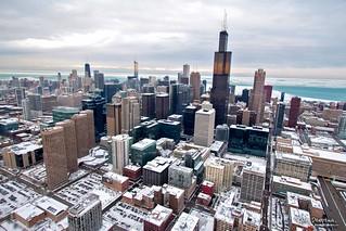 Chicago Polar Vortex sets Record Temp -16 F | by Kamil Dziedzina Photos