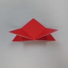 วิธีการพับกระดาษเป็นดาวหกแฉกแบบโมดูล่า 007